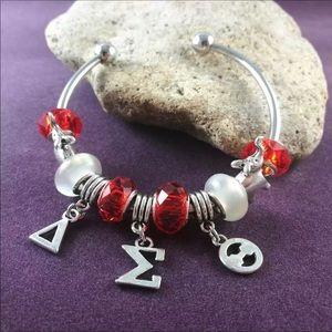 Delta Sigma Theta Sorority Charm Bracelet